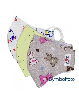 Stoffmaske Kinder (3er Set)